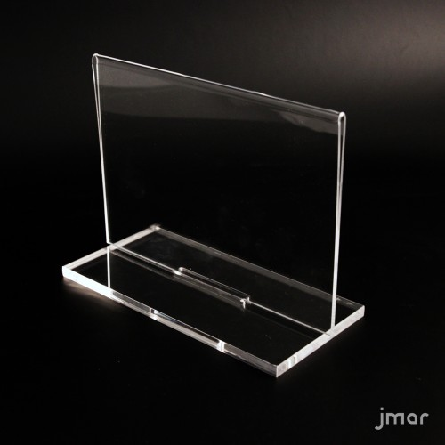 DOUBLE SIDE Acrylic Display with removable base