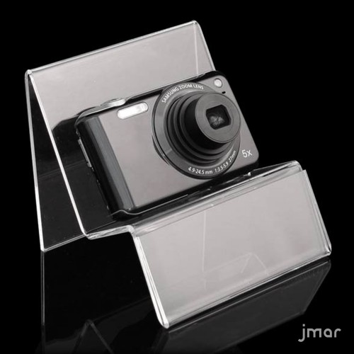 Acrylic digital camera holder