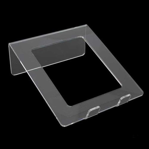 Supporto Porta NOTEBOOK - PORTATILE - TABLET in Plexiglass trasparente
