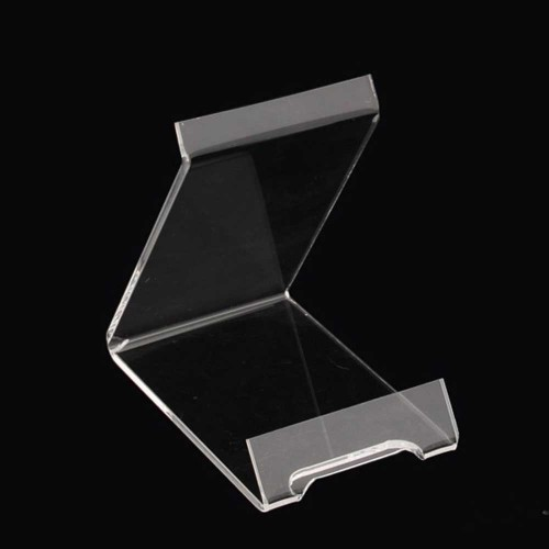 Acrylic plate stand display