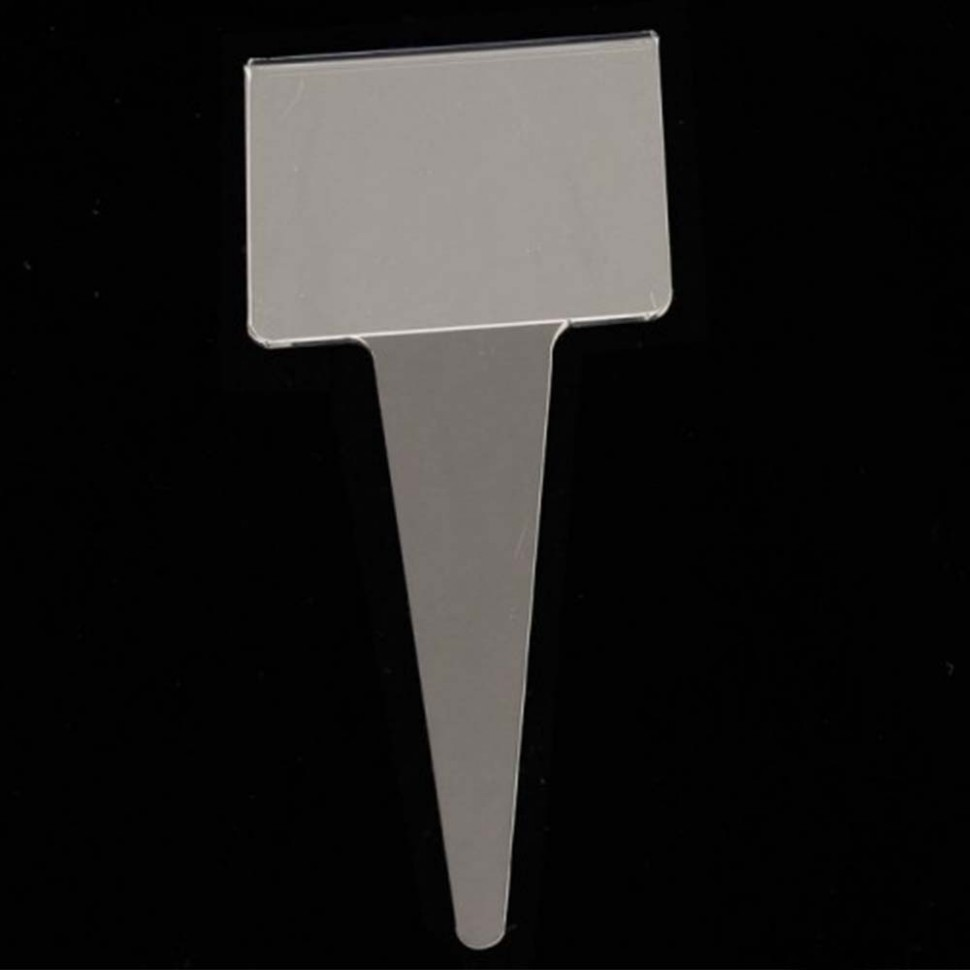Price holder and holder for ice cream flavour. Acrylic glass.