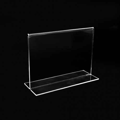 Frames Double-sided for price, lists and menus. Desk sign holder.