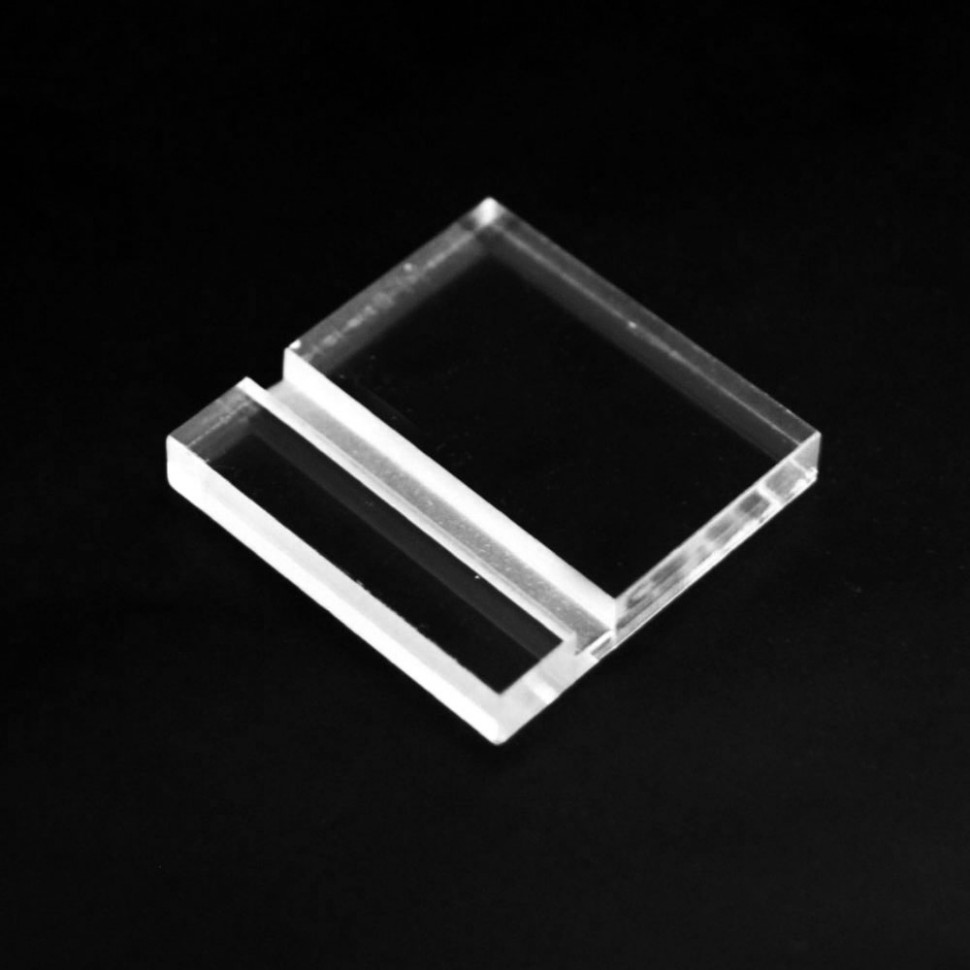 FOOT supporto in plexiglass per targhe e oggetti negozio