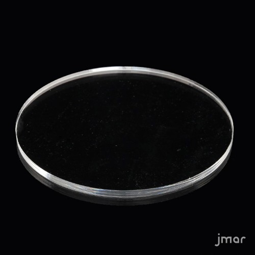 Disco Plex Trasparente ( 11,5 x 0,5 cm )